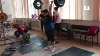 Подготовка к соревнованиям по тяжелой атлетик