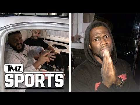 DJ Khaled and Kevin Hart Go to War Over Heat vs. 76ers!!!   TMZ Sports