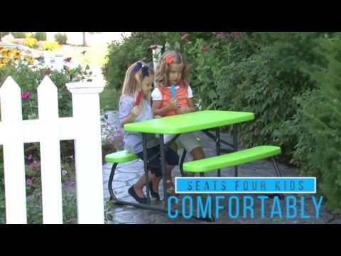 Lifetime Produktvideo Picknickgarnitur