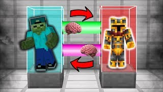 MC NAVEED AND MARK FRIENDLY ZOMBIE SWAP BRAINS AND CLONE THEMSELVES  SYNC MOD  Minecraft Mods