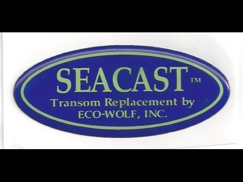 Seacast transom 1980s