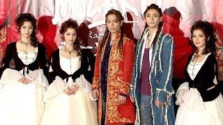 ミュージカル「モーツァルト!」の開幕を前に記者会見が行われ、山崎育...