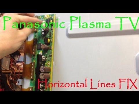 Panasonic Plasma TV Horizontal Lines FIX