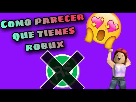 Como Parecer Con Robux Si No Tienes Youtube