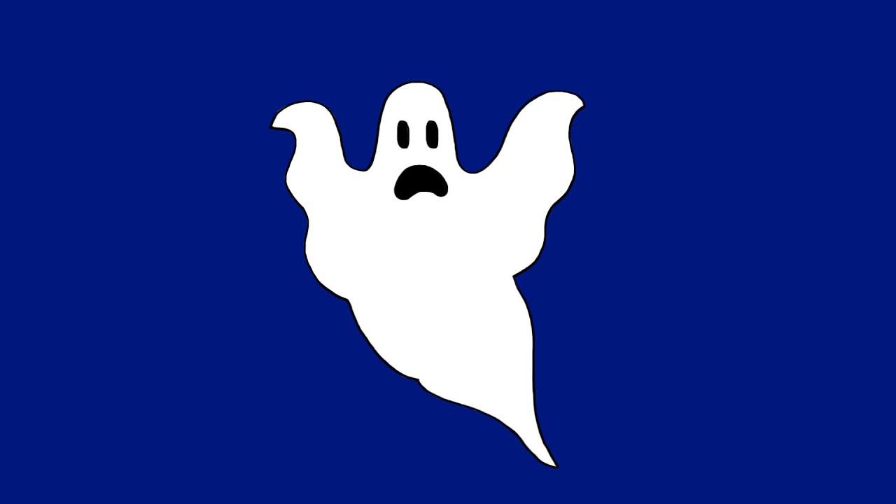 Comment Dessiner Un Fantome Pour Halloween