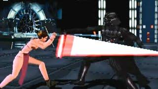 Star Wars: Masters of Teras Kasi (PS1) Playthrough - NintendoComplete