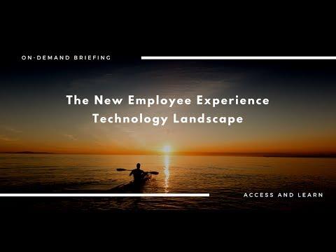 Webinar: The New Employee Experience Technology Landscape