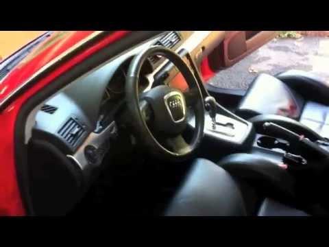 Car Wash & Detail Red Audi A4
