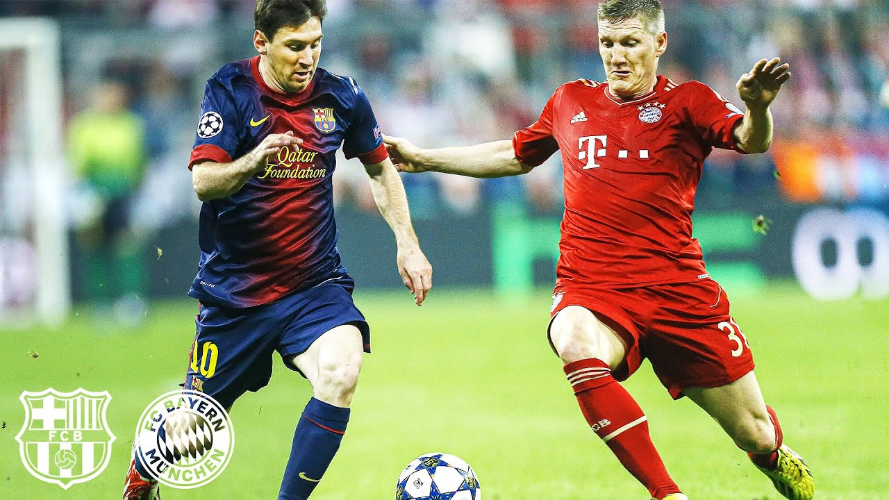 Download FC Barcelona vs. FC Bayern - All Knockout Matches in the Champions League