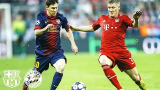 Fc barcelona and bayern munich had many epic games against each other. enjoy the best moments of all knockout matches in uefa champions league - inclu...
