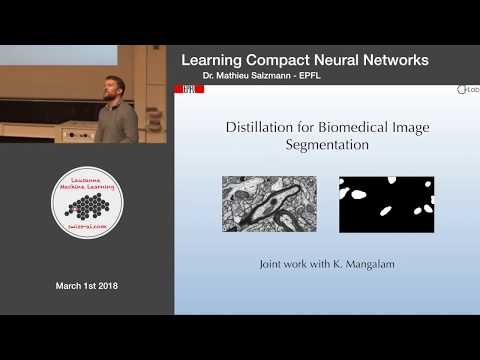 Learning Compact Neural Networks - Lausanne Machine Learning Meetup