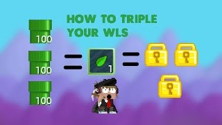 Growtopia| How to triple your wls - [Plumbing] Mass #1