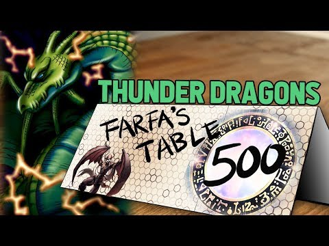 """Table 500 #162 Thunder Dragons """"Please just summon JD, summon JD, WHY WON'T YOU SUMMON JD???"""""""