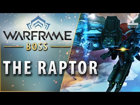 Warframe - Boss - The Raptor - Naamah (Europa)