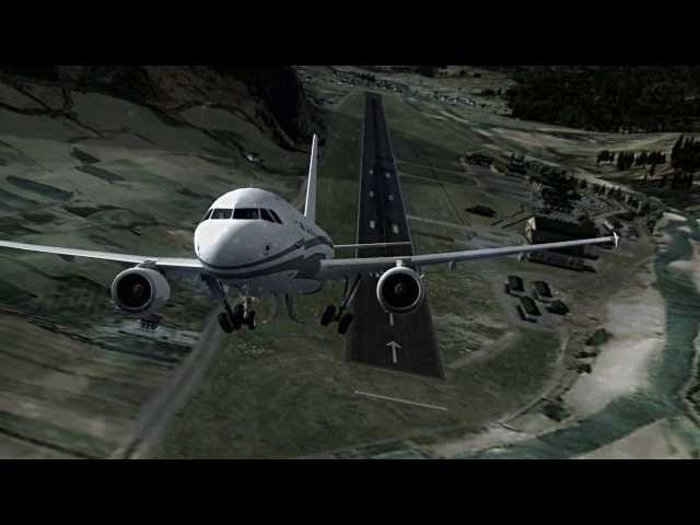 Dangerous airports 2014 !! [HD] | FSX Travel Video