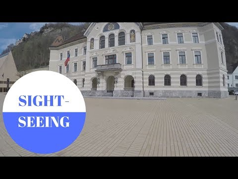 Sightseeing in Vaduz in LIECHTENSTEIN