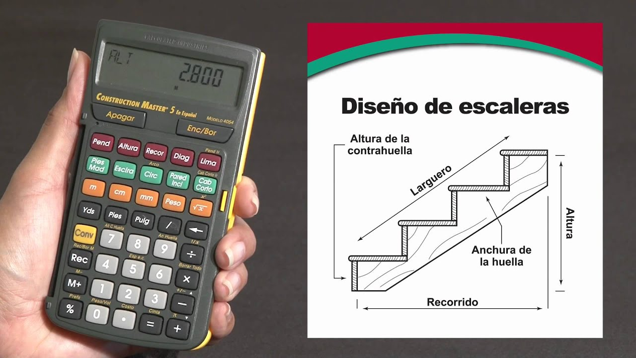 Construction Master 5 en Español -- Simplifica todos sus cálculos ...