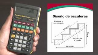 Construction Master 5 en Español -- Simplifica todos sus cálculos para sus diseños de escaleras thumbnail