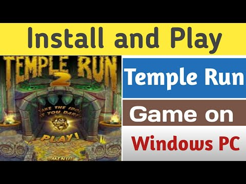How Install Temple Run 2 Android Game On Windows PC