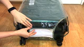 GRATIS GANTUNGAN TAG KOPER PLASTIK POLOS - 24 INCH TRAVEL LUGGAGE COVER PROTECTOR PVC CLEAR SARUNG PELINDUNG KOPER PLASTIK MIKA TRANSPARAN