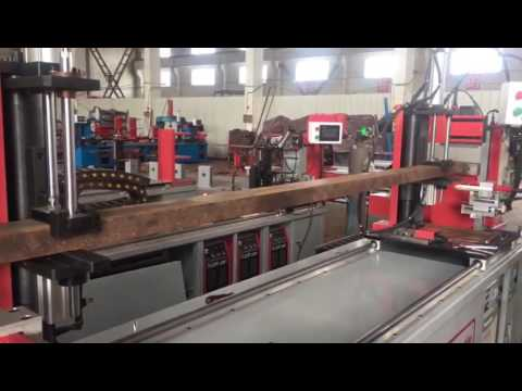 C CHANNEL BEAM WELDING MACHINE
