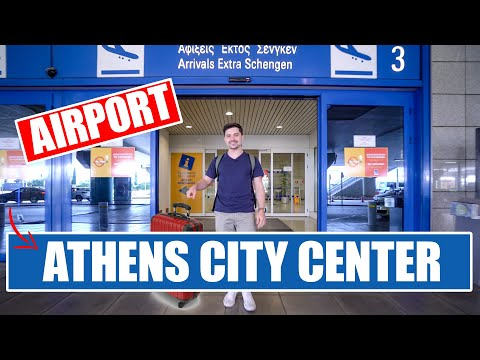 HOW TO GET TO ATHENS CITY CENTER FROM THE AIRPORT!