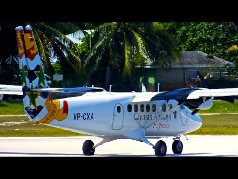 Grand Cayman (GCM) Spotting - Cayman/American - Airbus A319-100 & More - Spotting Series Ep. 118