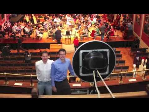 Royal Academy of  Through an Acoustic camera  Short
