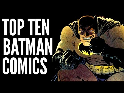 TOP TEN BATMAN GRAPHIC NOVELS