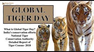 Big News: Global Tiger Day- Tiger Census Detailed Report 2018