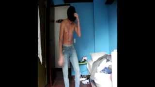 Skrillex dancing