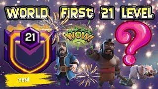Dünyanın İlk 21 Level Klanı - World First 21 Level Clan | Clash Of Clans