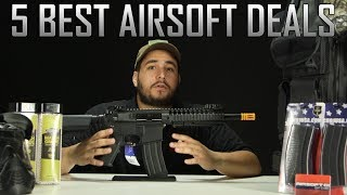 Best Bang For Your Buck! Top 5 Airsoft Value Deals - Airsoft GI