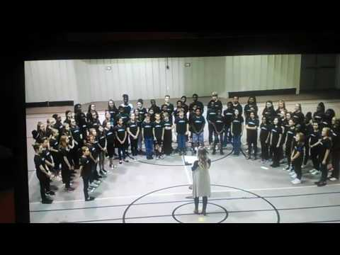 Promised land performed by Carl Stuart Middle School 6th grade choir