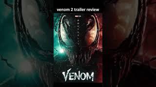 #venom trailer divertente recensione. giustizia per murgii #venomlettherebecarnage #shorts