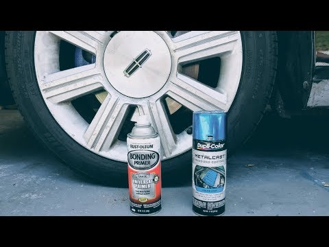 Spray paint calipers – Lincoln mkz part 2