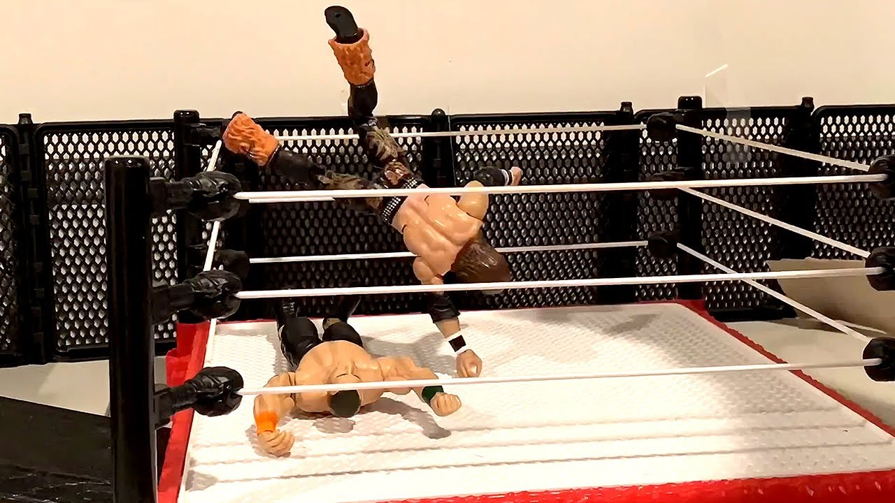 John Cena vs. John Morrison: WWE Action Figure Stop Motion