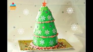 Ну, оОчень вкусный - Новогодний Торт