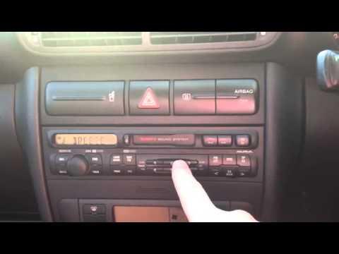 seat leon aura radio cassette youtube. Black Bedroom Furniture Sets. Home Design Ideas
