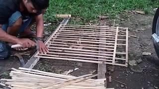 Download Video Sebentar saja cara singkat membuat kandang ayam bahan bambu kuat awet MP3 3GP MP4