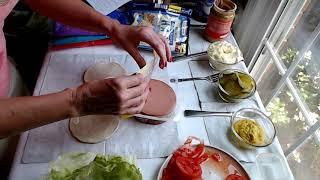 ASMR   Making Sandwiches / Plastic Crinkling (June 2019)