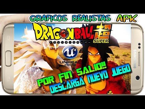 Descarga Nuevo!! DRAGON BALL UNREAL APK  Graficos Realistas Android