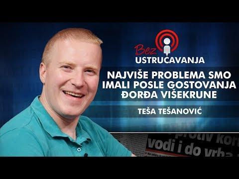 Teša Tešanović - Najviše problema smo imali posle gostovanja Đorđa Višekrune!