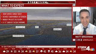 Nor'easter: Latest Forecast From Storm Team 4