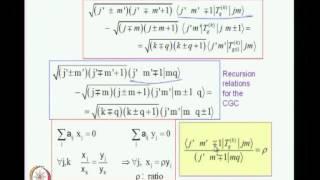 Mod-01 Lec-13 Angular Momentum in Quantum Mechanics Wigner-Eckart Theorem - 2