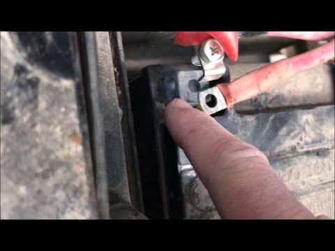 ATV Battery Install