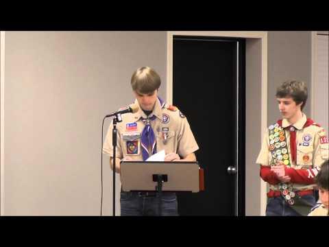 Eagle Scout Celebration Ceremony for Michael Santiago