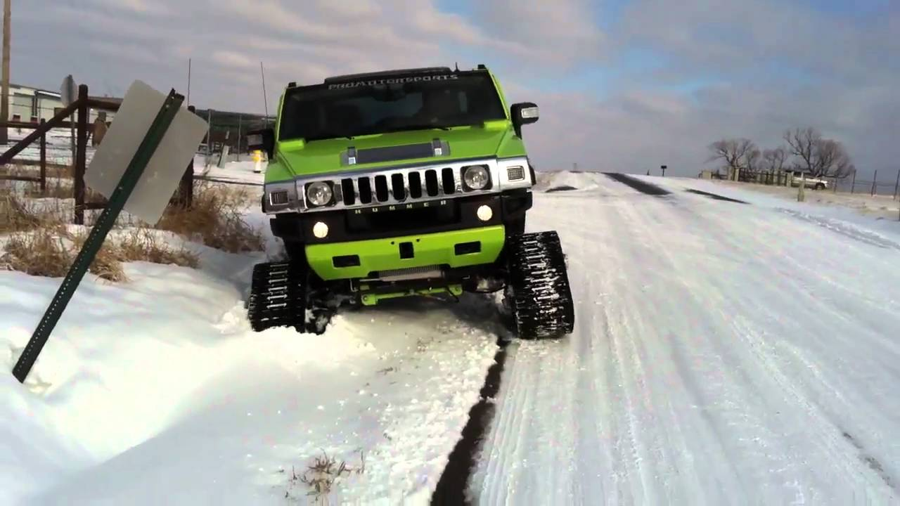 Mattracks On H2 Hummer Youtube