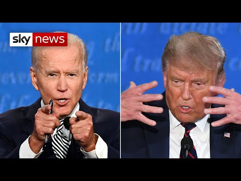 Watch In Full: Trump versus Biden in the first US Presidential election debate