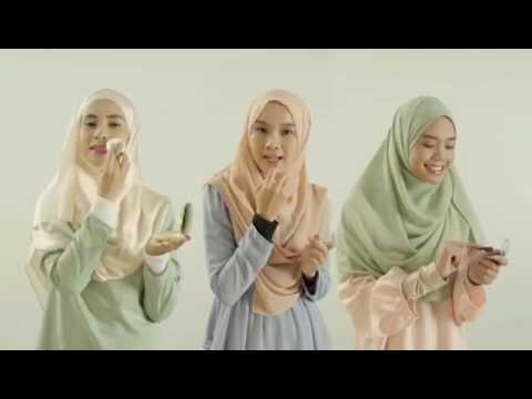 Iklan Nurraysa berseri-seri jadinya